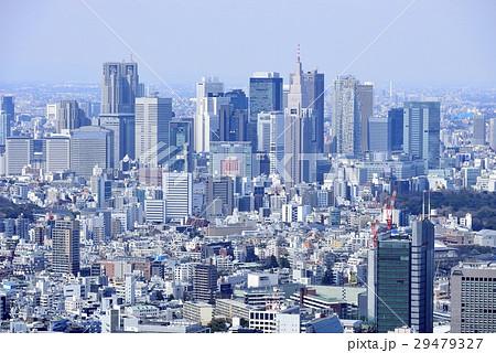 東京 都市風景 新宿副都心 29479327