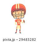 アメリカンフットボール サッカー フットボールのイラスト 29483282