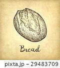 パン ブレッド 素朴のイラスト 29483709
