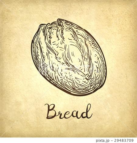 Vector illustration of rustic bread 29483709