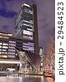 夜 大阪駅 駅ビルの写真 29484523