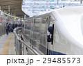小田原駅 新幹線の発車風景 29485573