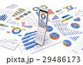 携帯電話とビジネス資料 29486173