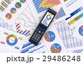 携帯電話とビジネス資料 29486248
