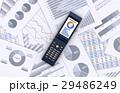 携帯電話とビジネス資料 29486249