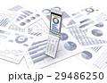 携帯電話とビジネス資料 29486250