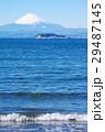 富士山 逗子海岸 海の写真 29487145