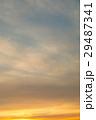 空 夕方 夕暮れの写真 29487341