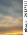 空 夕方 夕暮れの写真 29487342