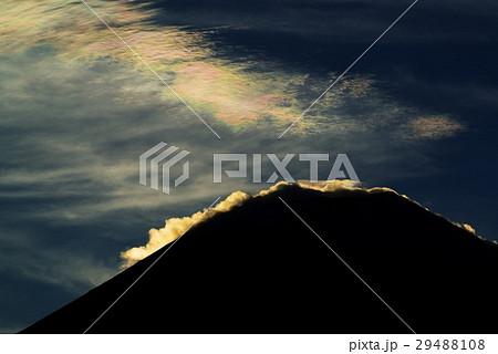 富士山と彩雲 29488108