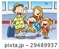 ベクター ゴールデンウィーク 家族旅行のイラスト 29489937