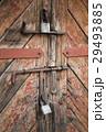 南京錠 ドア 戸の写真 29493885