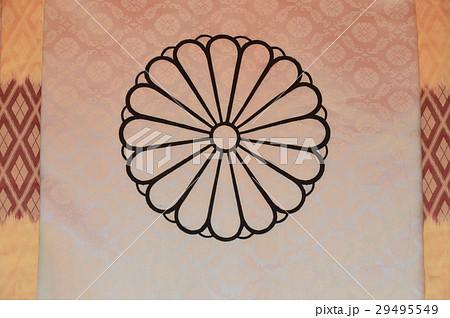 菊の御紋の幔幕(生田神社∙拝殿/兵庫県神戸市中央区) 29495549