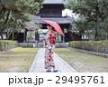 女性 着物姿 京都観光の写真 29495761