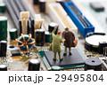 基盤 マザーボード ハードディスクの写真 29495804