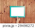 フレーム 板 木目調の写真 29496272