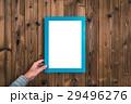フレーム 板 木目調の写真 29496276
