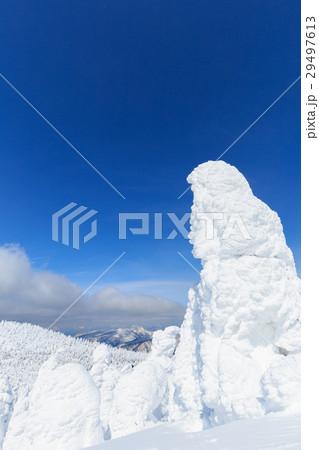 山形蔵王_快晴に輝く樹氷群 29497613