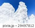 山形蔵王_快晴に輝く樹氷群 29497812