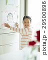 母の日 冷蔵庫 似顔絵の写真 29500896