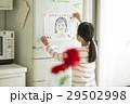母の日 似顔絵 冷蔵庫の写真 29502998