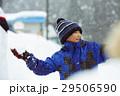 雪国で遊ぶ子供 29506590