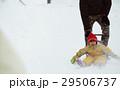雪国で暮らす家族 そり遊び 29506737