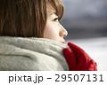 冬 女性 1人の写真 29507131