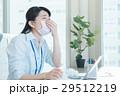 ビジネスウーマン 花粉症 風邪の写真 29512219
