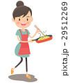 料理 エプロン ベクターのイラスト 29512269