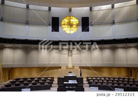 東京都議会議事堂(議場)正面 29512313