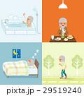 生活習慣 健康 人物のイラスト 29519240