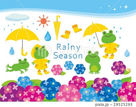 梅雨イラストのイラスト素材 29525293 Pixta