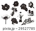 花シルエット 29527785