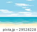 ビーチ 海 青空のイラスト 29528228