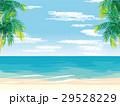 ビーチ 海 砂浜のイラスト 29528229