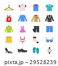 Cloth and Accessory Flat Color Icons 29528239