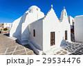 ミコノス島 教会 聖堂の写真 29534476