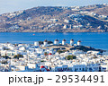Windmills on Mykonos, Greece 29534491