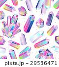 結晶 シームレス パターンのイラスト 29536471