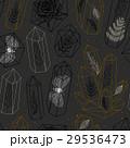 結晶 パターン 柄のイラスト 29536473