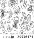 結晶 パターン 柄のイラスト 29536474