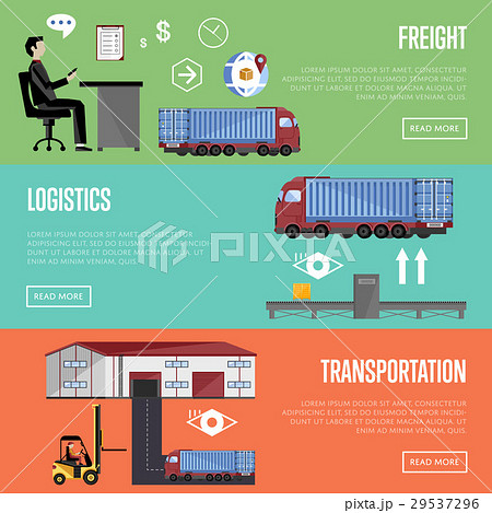 Warehouse process infographics raster illustration 29537296