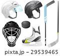 アイスホッケー ホッケー ヘルメットのイラスト 29539465