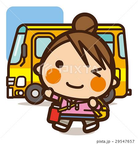 がっこうKids 遠足バス女子 29547657
