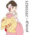 振り袖の女性 29550625