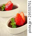 プリン ココアプリン 洋菓子の写真 29550701