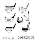 GOLF ゴルフ クラブのイラスト 29552315