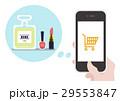 イラスト素材 化粧品 ショッピング 29553847