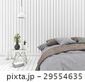 インテリア ベットルーム ベッドルームのイラスト 29554635